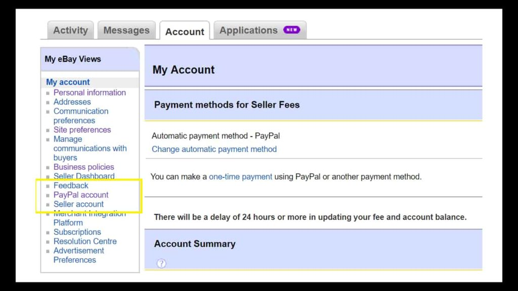 How to link PayPal to eBay - most easy step » TRONZI