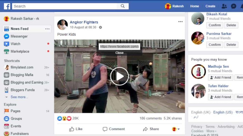 How to Download facebook videos the easy way » TRONZI